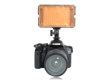 F V Hdv-Z96 Kit Led Z-Flash Digital Video Light For Digital Slr Camera Camcorder + Worldwide Free Shiping