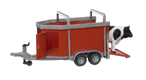 Cattle Trailer Including 1 Cow