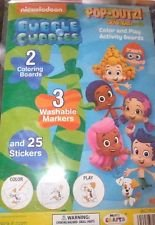 Bubble Guppies Pop-Outz! Grab-Bag! Color & Play Activity Boards