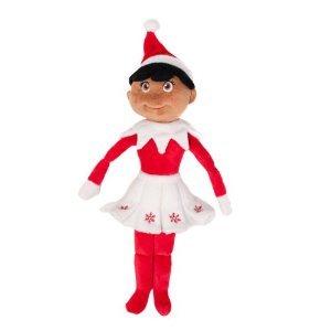 Elf on the Shelf Plush - Brown Eyed Girl