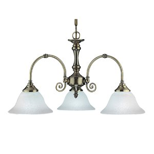 Searchlight Virginia 9353-3 2 Traditional Pendant