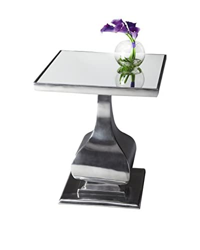 Butler Accent Table, Chrome