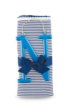 Mud Pie N Cotton Receiving Blanket, Blue