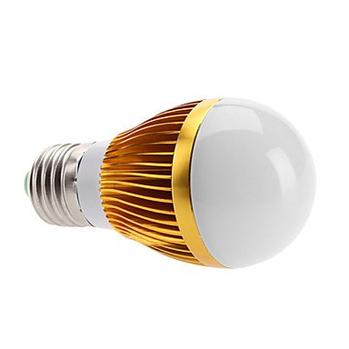 E27 6W 400-500Lm 3000-3500K Warm White Led Bulb Lamp (110-240V)