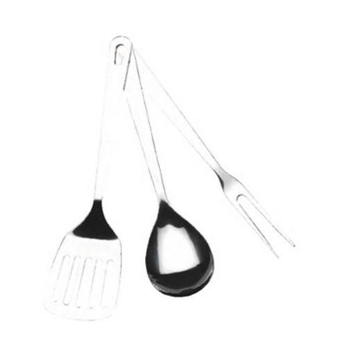3 - Pc. Set of Texsport Stainless Steel Cooking