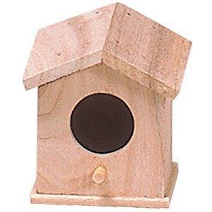 川井 家型巣箱 小 KT-10 小鳥用巣箱
