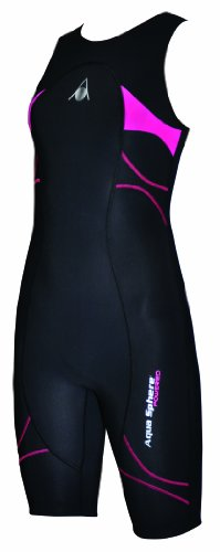 Aqua Sphere Women's Energize Compression Speed Suit , Black, 28