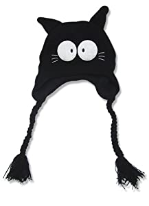 FLCL Takkun Black Cat Knitted Beanie