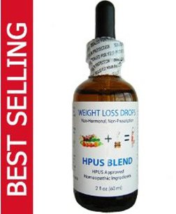 NHL HPUS Blend Essential Formula Fast Weight Loss Diet Drops 60ml 2 fl oz - Lose a Quick Pound Per Day on the Dr Simeons & Cura Romana VLCD Diets...Other Diets Too!