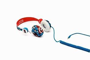 Coloud Marvel Captain America 04090189 Headphone (Red/White Blue)
