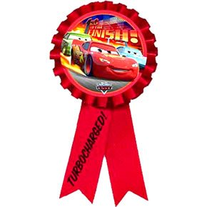 Disney World of Cars Award Ribbon - Each