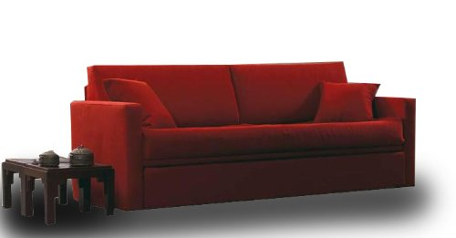 einzelbett mit ausziehbarem und zwei matratzen eingeschlossen bezug aus stoff repellent. Black Bedroom Furniture Sets. Home Design Ideas