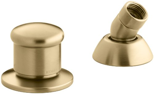 Two-Way Diverter Valve and Handshower Hose Guide Finish: Vibrant Moderne Brushed Gold K-8549-BGD