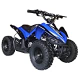 MotoTec 24V Mini Quad - Blue