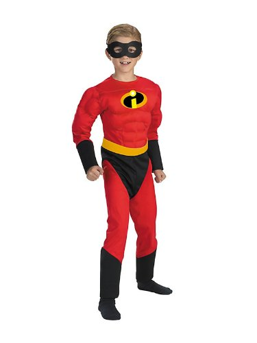 Child's Mr. Incredible Muscle Chest Costume