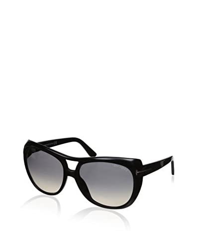 Tom Ford Women's Claudette Sunglasses, Black As You See
