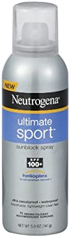 Neutrogena Ultimate Sport Sunblock Spray SPF 100-5 oz