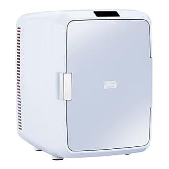 TWINBIRD 2電源式ポータブル電子適温ボックス D-CUBE X グレー HR-DB08GY