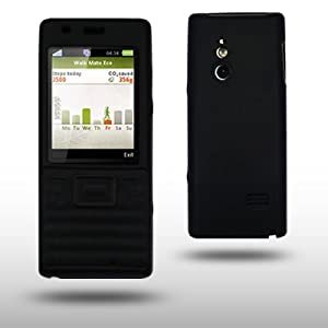 SONY ERICSSON ELM BLACK SILICONE SKIN CASE BY CELLAPOD CASES