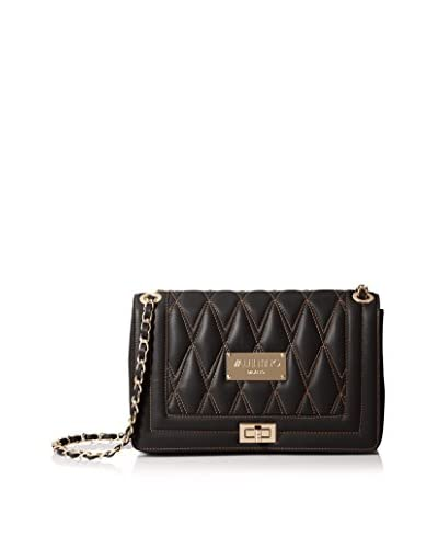 Valentino Bags by Mario Valentino Women's Alice D Shoulder Bag, Black, One Size