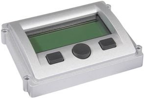 """""""Storm Interface 5001-200203 Toughened Display Bezel With 4X20 Char Lcd, Sealed, Scratch Resistant"""""""