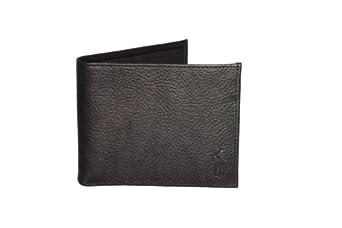 Polo Ralph Lauren Mens Black Leather Passcase Wallet