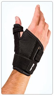 Mueller Sports Medicine Reversible Thumb Stabilizer, Black,
