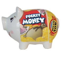 Pocket Money Piggy Bank - 1