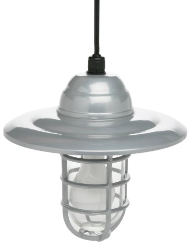 Designers Edge L-1704 Hanging Farm Light with 10-Inch Reflector