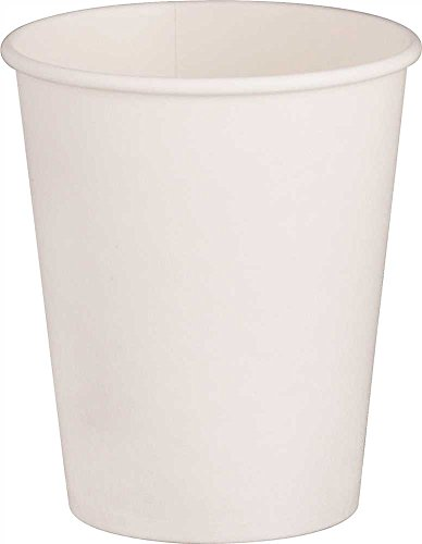 Renown GIDDS2-2471224 1000 Per Case Single-Sided Pe-Lined Paper Hot Drink Cups, 4 oz, White