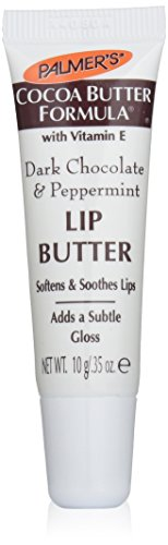 buy Palmer'S Cocoa Butter Formula With Vitamin E, Lip Butter, Dark Chocolate & Peppermint, 0.35-Ounce Tubes (Pack Of 12)