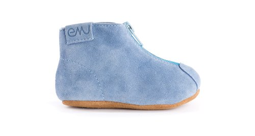 Emu Australia Jardee Crib Shoe (Infant/Toddler),Blue,18-24 Months M Us Toddler front-437210