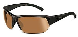 Bolle Ransom Sunglasses, Shiny Black/Modulator V3 Golf Oleo AF