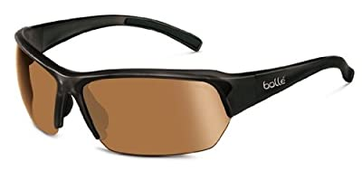 Bolle Ransom Sunglasses, Shiny Black/Modulator V3 Golf Oleo AF