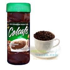 Colcafe Decaffeinated Instant Coffee 3.52 Oz Colcafe Descafeinado Instantaneo 100 Grs