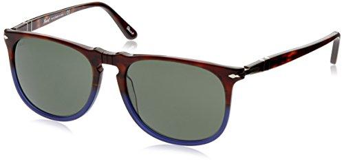 persol-unisex-sonnenbrille-po3113s-gr-large-herstellergrosse-57-mehrfarbig-gestell-havana-glaser-gra