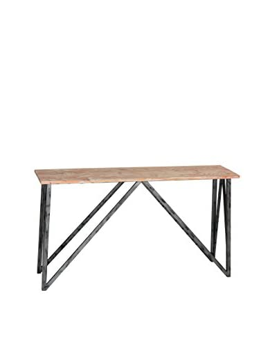 Armen Living Regis Console Table, Pine