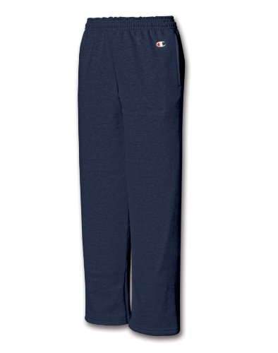 Champion Youth Eco� 9 oz.; 50/50 Open-Bottom Pants - NAVY - XL