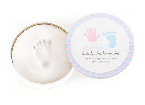 Tiny Ideas Handprint or Footprint Keepsake with Storage Tin