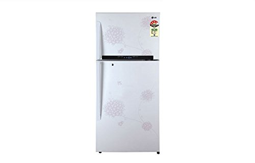 LG GL-M542GPHM(BW) Frost Free Double Door Refrigerator Bouquet White