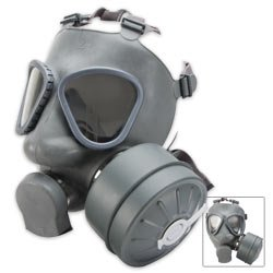 Finish Gas Mask w/Filter