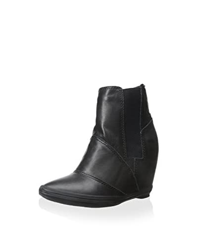 ALL BLACK Women's Stretch Wedge Ankle Boot