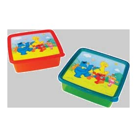 FIRST YEARS SESAME STREET TAKE & TOSS CONTAINERS