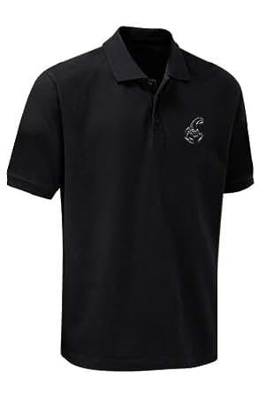 SCORPIONS Logo Polo Shirt (S)