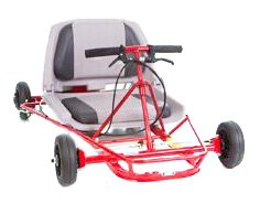 Go-Ped Super Go Quad 30 Gas Powered Mini-Kart (Red)