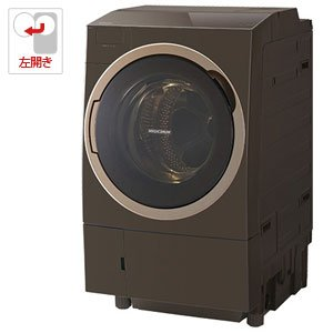 東芝 11.0kg ドラム式洗濯乾燥機【左開き】グレインブラウンTOSHIBA TW-117X3L-T