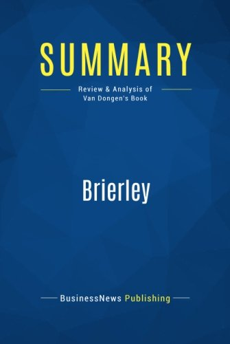 Summary: Brierley: Review and Analysis of Van Dongen's Book