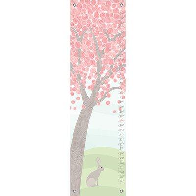 """Oopsy Daisy Growth Chart, Pastel Tree, 12"""" x 42"""""""