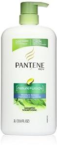 Pantene Pro-V Nature Fusion Moisture Balance Shampoo With Pump 33.8 Fl Oz