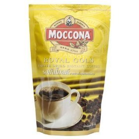 Moccona Royal Gold Premium Instant Coffee Stand Pack 120g.